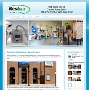 Bestmed Respiratory website