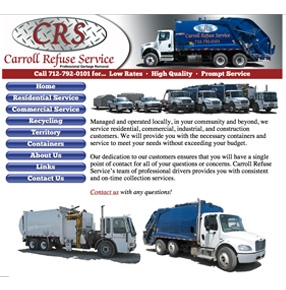 Carroll Refuse Service website