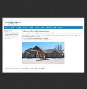Carroll Dental Associates website